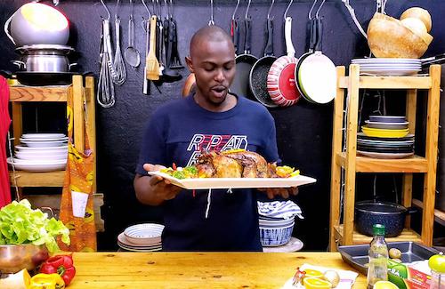 Nella cucina di Iba, l'influencer bongustaio