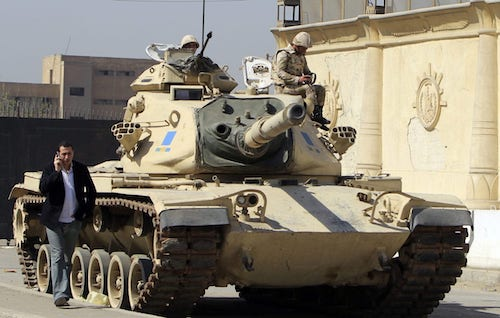 L'Egitto migliore acquirente delle armi italiane