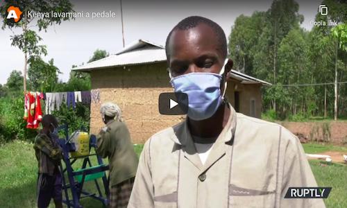 Kenya | Bimbo prodigio inventa lavandino anti virus