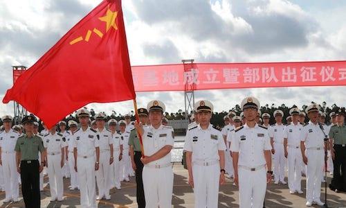 Cina, dopo le aziende arrivano i militari